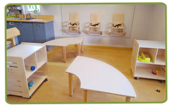 table chaises murales