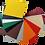 Choix de couleurs pour protection murale