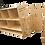 Panneau séparateur mobile décoratif