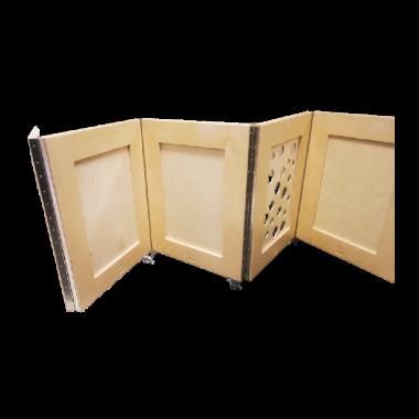 Panneaux séparateurs accordéon pour garderie