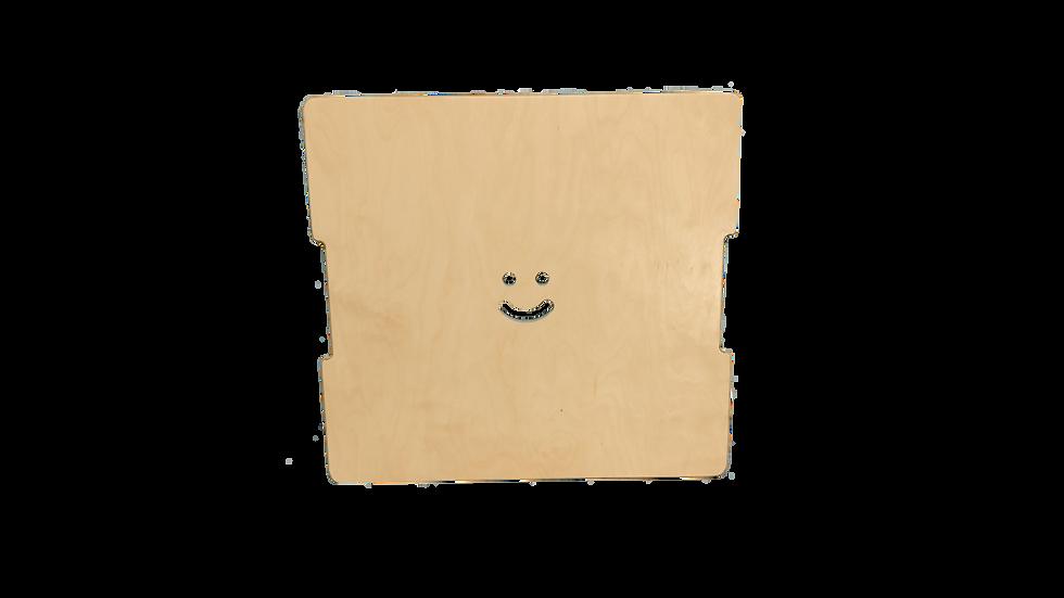 Couvercle en bois pour coffre