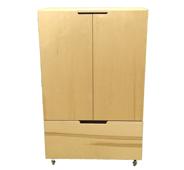 Armoire avec 2 portes et 1 tiroir