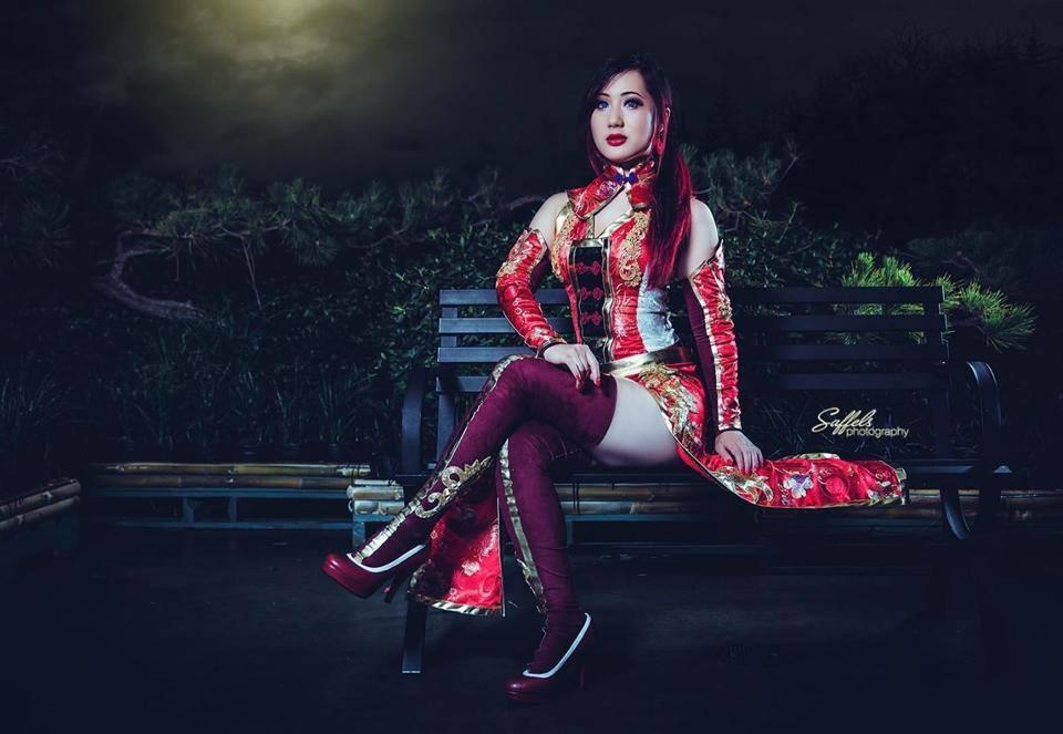 Dynasty Warriors - Lian Shi