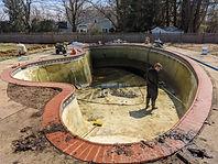 pool renovation , NJ