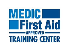 We are a Medic/First Aid Approved Training Center