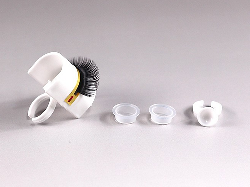 Eyelash/glue ring
