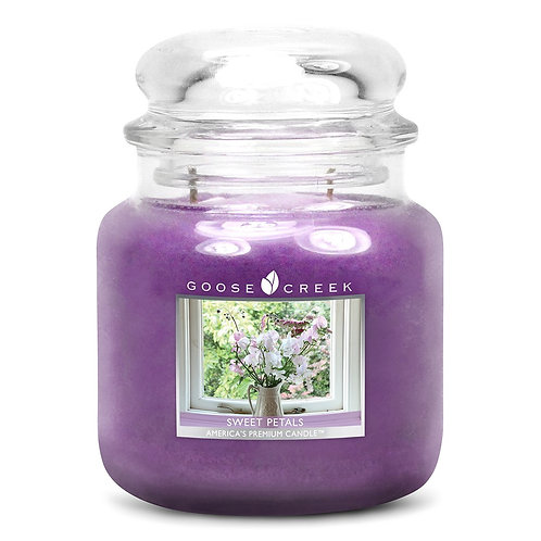SWEAT PETALS CANDLE JAR - Goose Creek