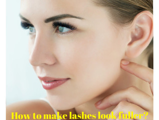 6 Tips on How to make lashes look fuller?