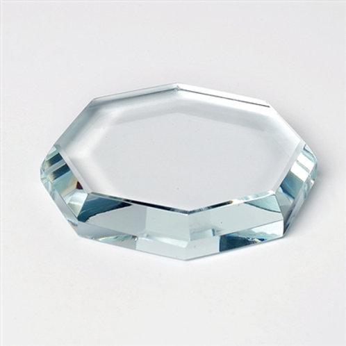 Crystal glue plate