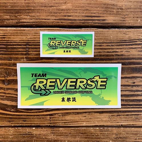 Reverse/バナーステッカー S/L
