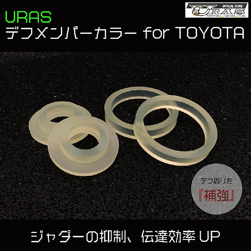 URAS/ Diff member color for TOYOTA デフメンバーカラー