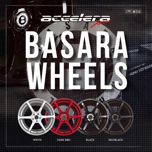 ACCLERA/ BASARA WHEELS 17×9J