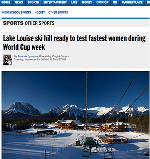 Article from Alive featuring Alpine Skier Candace Crawford