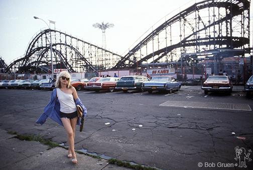 Debbie Harry Coney Island 1974