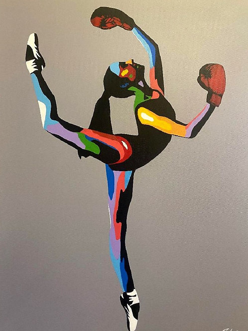 """""""Boxer Ballerina II"""" By Solus"""