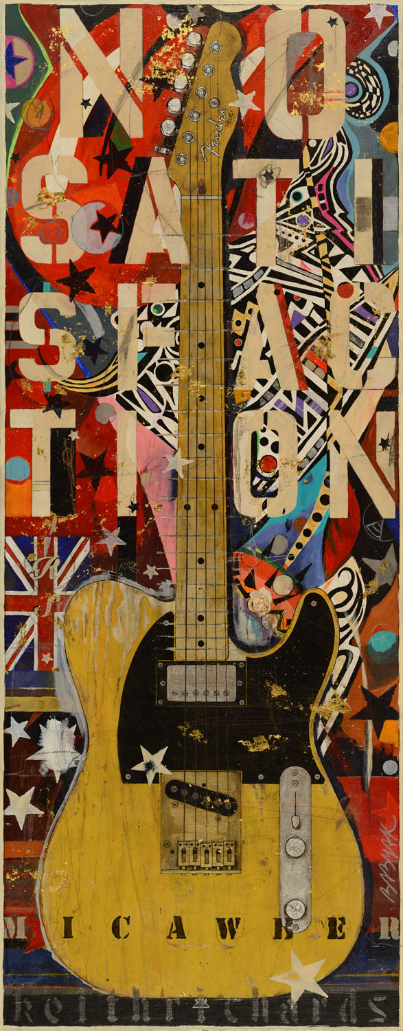 49x20 Keith Richards Micawber Telecaster