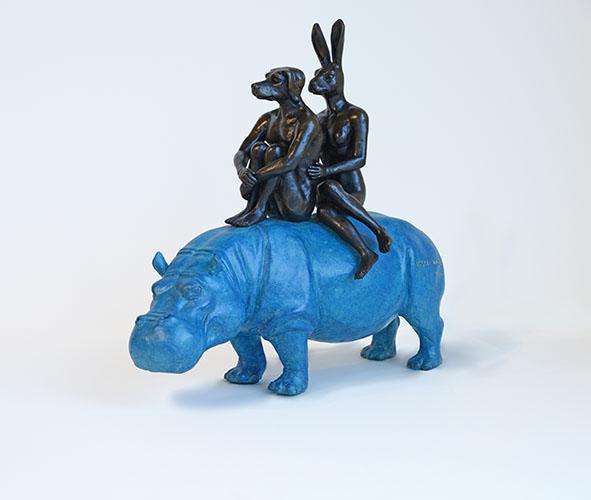 Blue Hippo Riders