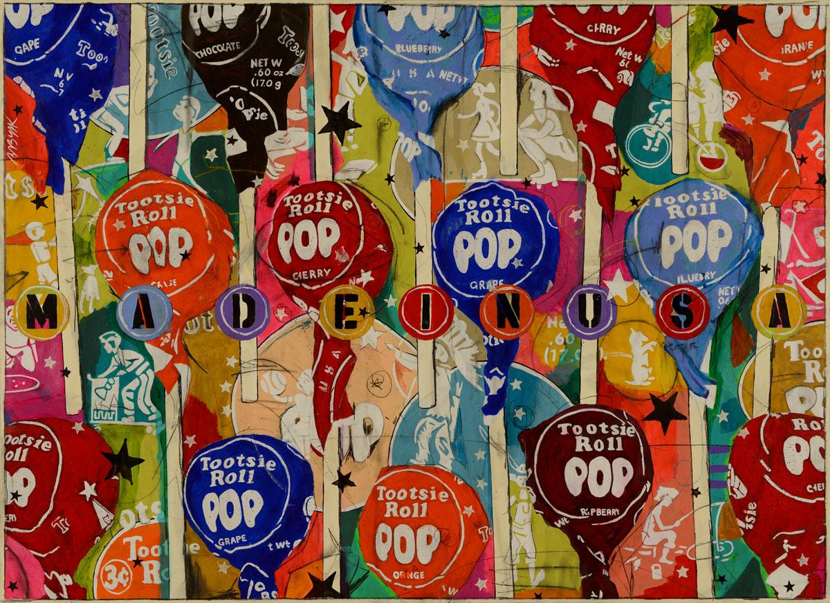 36x49 Tootsie Pop