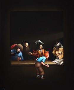 Caravaggio's Dream