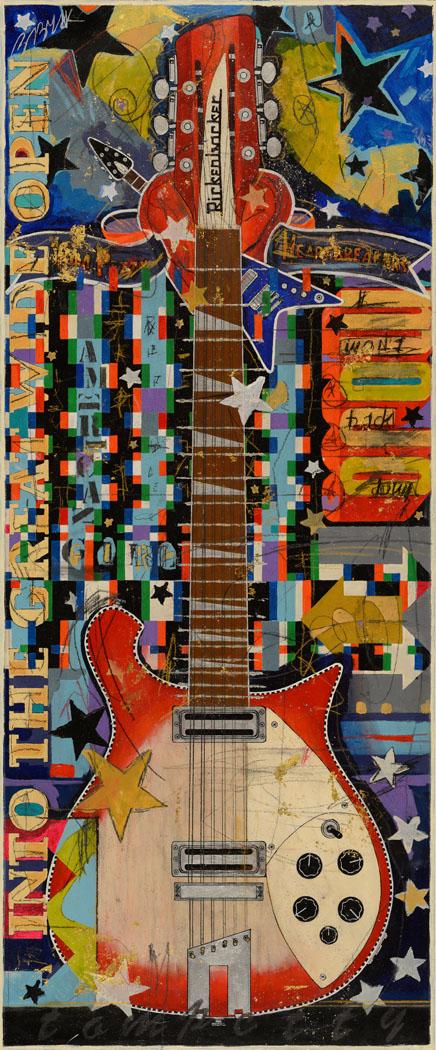 49x21 Tom Petty Rickenbacker 660