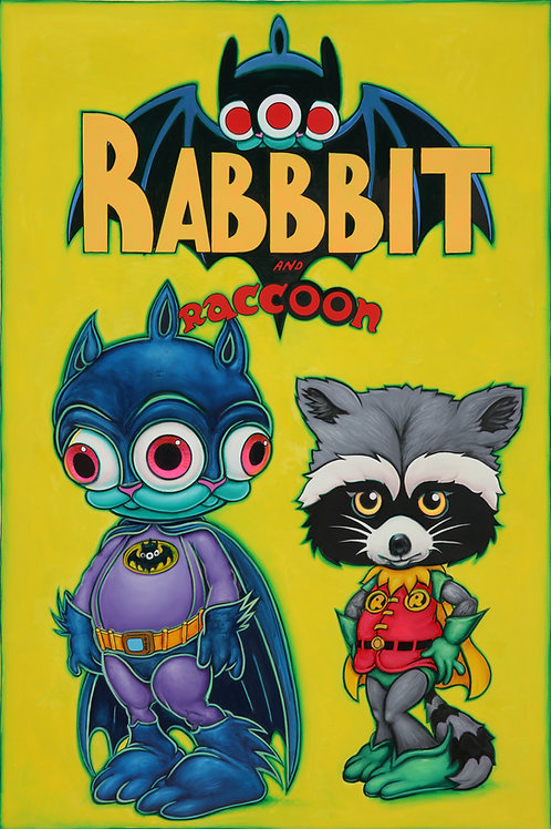 Rabbbit and Raccoon