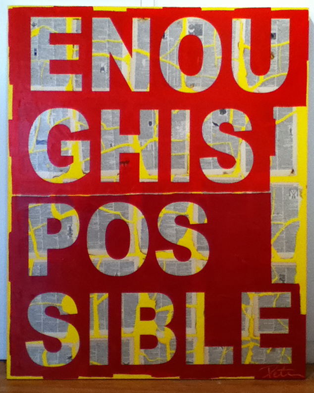 EnoughIsPossible48x36