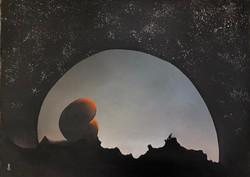 Moonlight 34 x 25