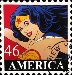 Wonder Woman Stamp