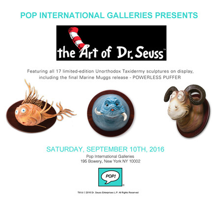 The Art Of Dr. Seuss Featuring The Full Collection Of All 17 Unorthodox Taxidermy Sculptures And Oth