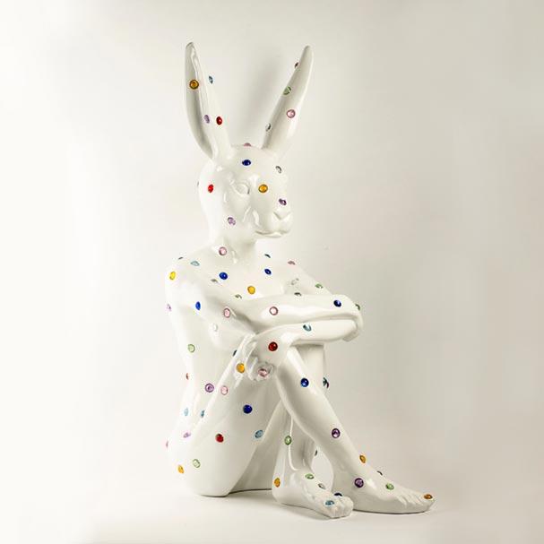 Ruby Rabbit White