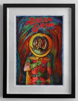 pop ROBIN GRIN FRAMED