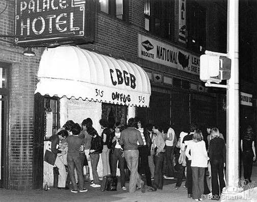CBGB 1975