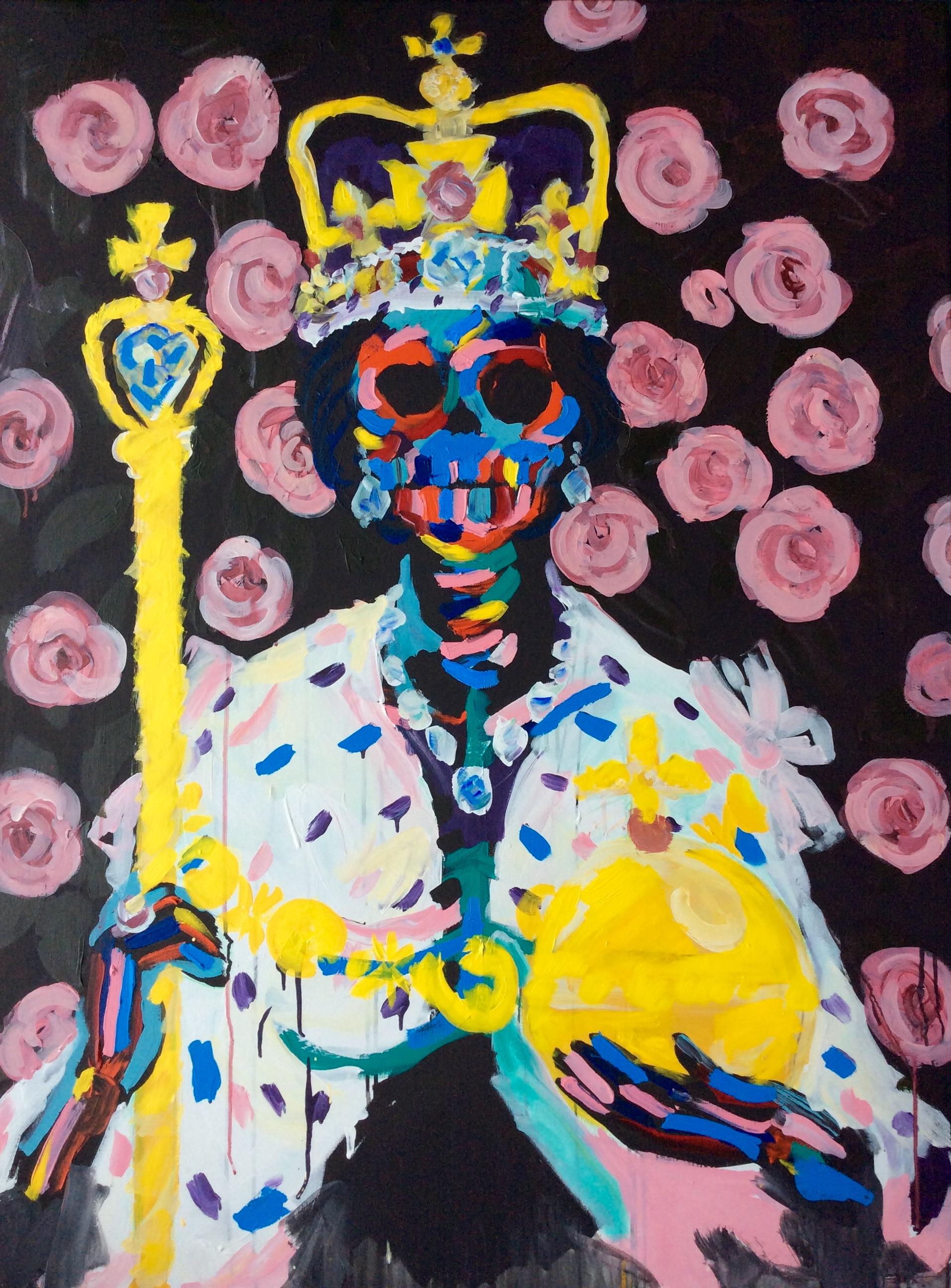 Queen Elizabeth 36x48