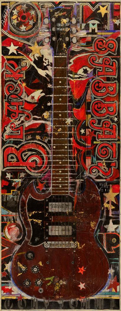 49x20 Tony Iommi SG The Monkey