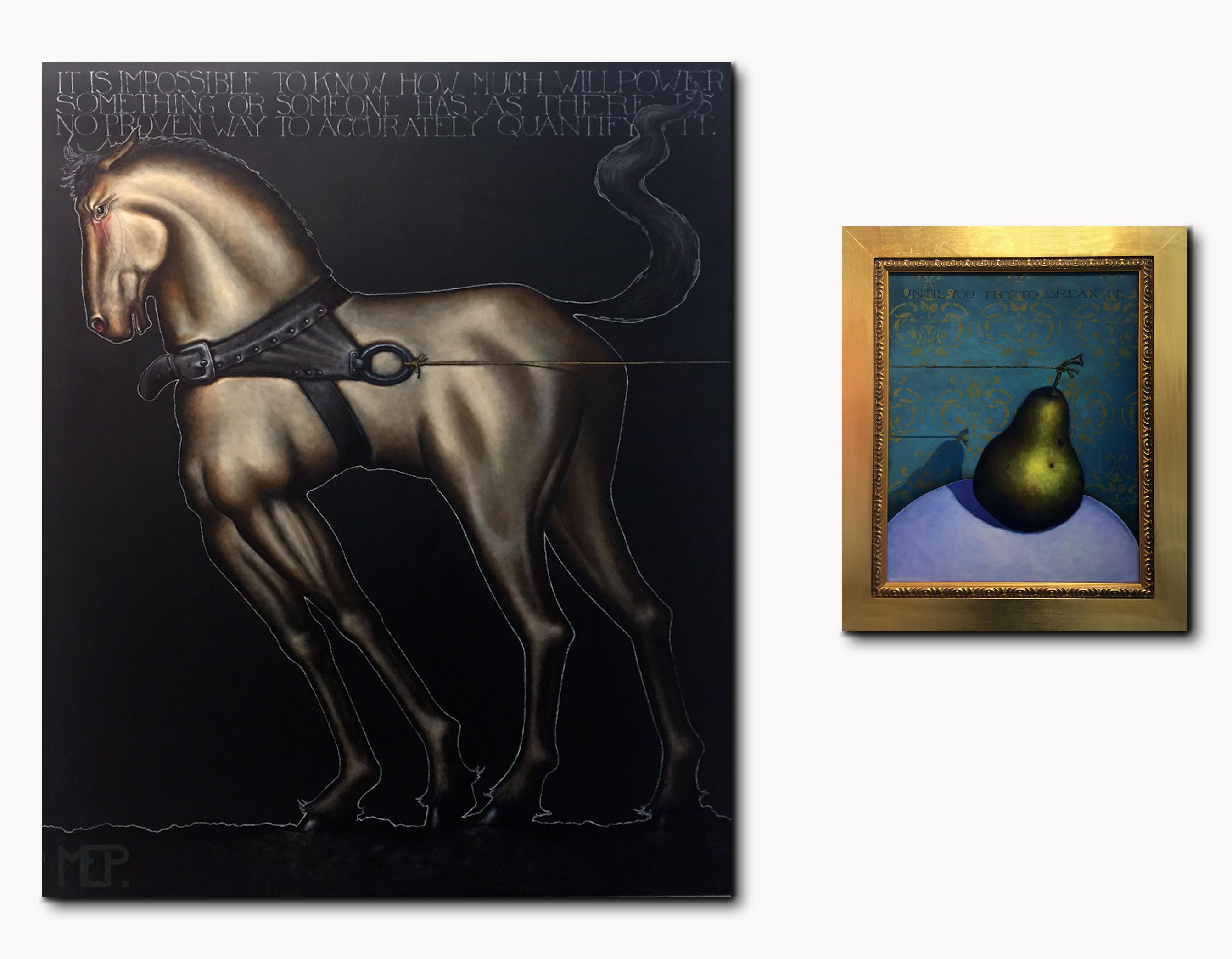 Unbroken Horse & Pear