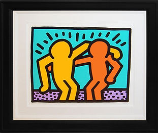 "Keith Haring ""Best Budd"