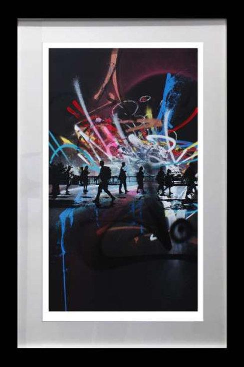 Set of 10 Framed Limited Edition POP Prints
