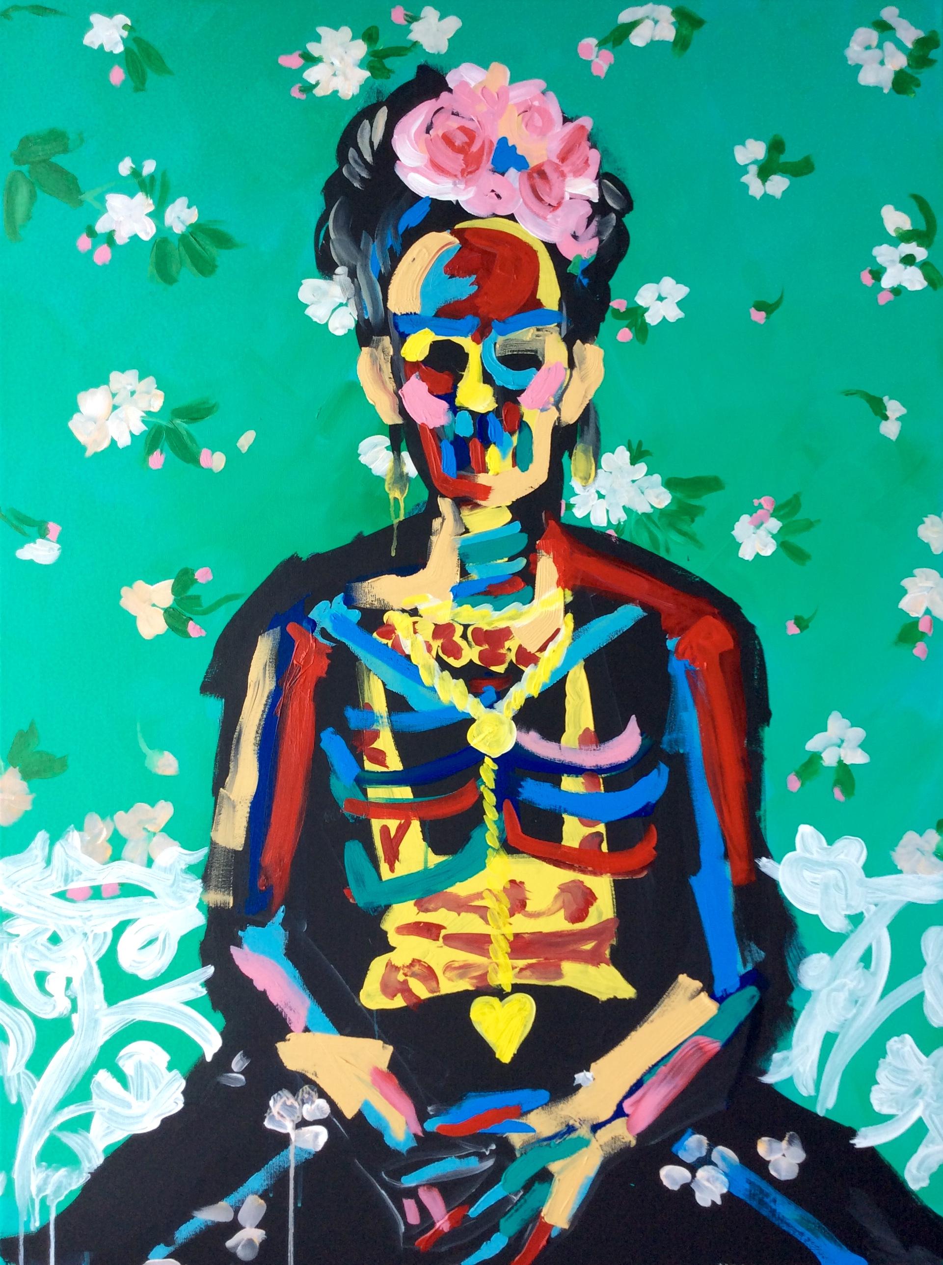Frida Kahlo 30x40