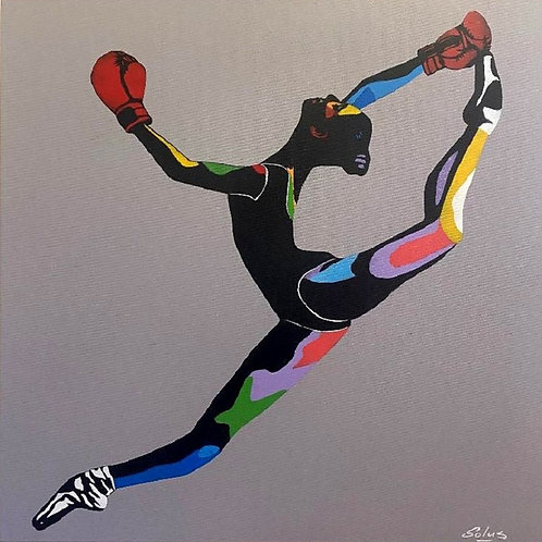 """""""Boxer Ballerina"""" By Solus"""