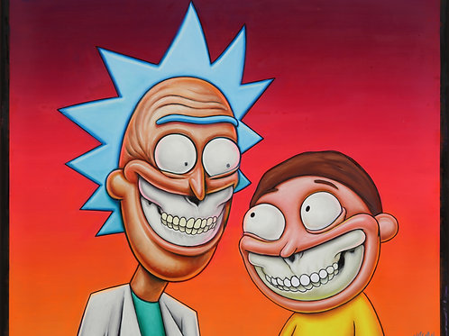 Rick and Morty Grin