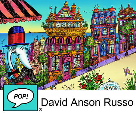 What A Great Life! | David Anson Russo | Pop Gallery | November 16th