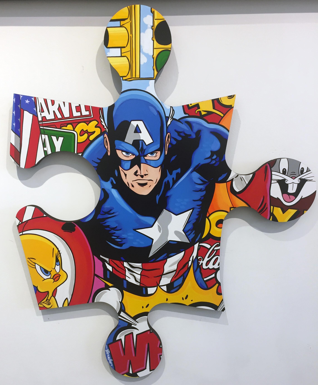 Captain America + Tweety