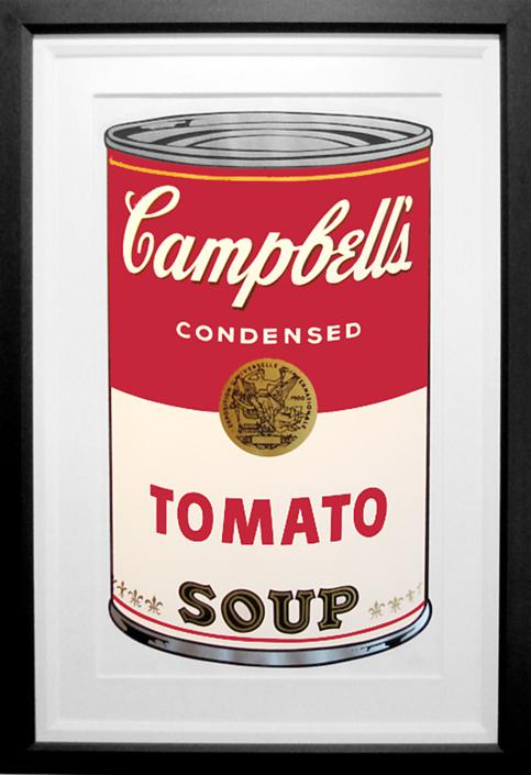 Tomato Soup Framed