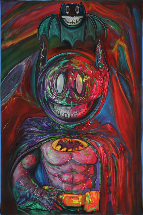 Batman Grin - SOLD