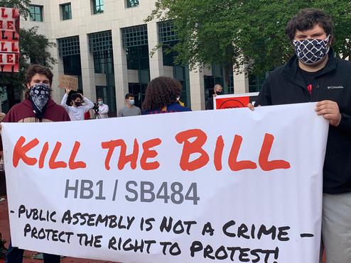 HB1/SB484 Kill the Bill Rally