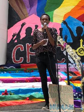 LGBTQIA+ Rights Speaker