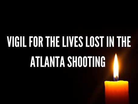 Vigil held for victims of Atlanta shooting