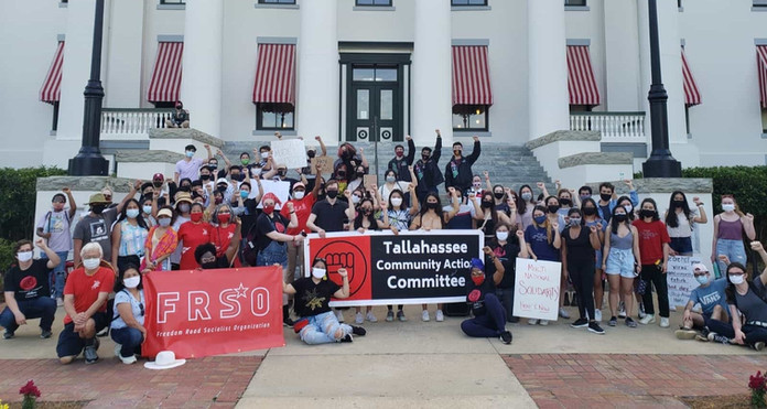TCAC Members at Asian Lives Matter Rally