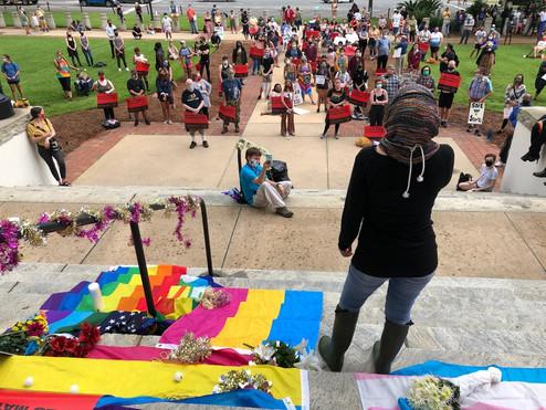 Black Trans Lives Matter Demonstration