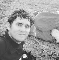 Janlen paragliding pilot contours antigu